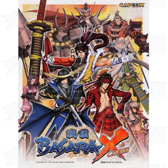 Sengoku Basara Cross Arcade Game Board Kit - Brochure Front