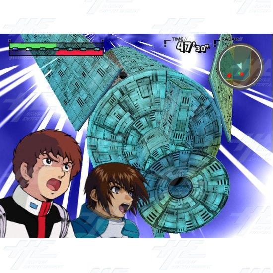 Gundam vs Gundam Arcade Game Board  - Screenshot