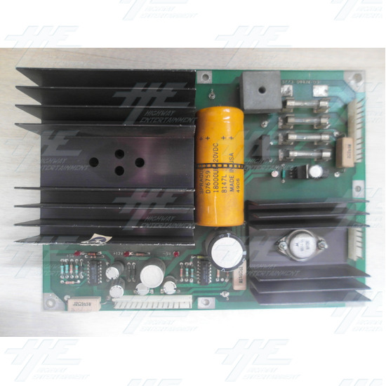Williams Pinball Power Board Solid State 5773-09474-03 - PCB Front View