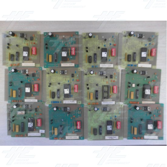 Credit Board for Video Game (12pc) - Credit Board PCB Front View