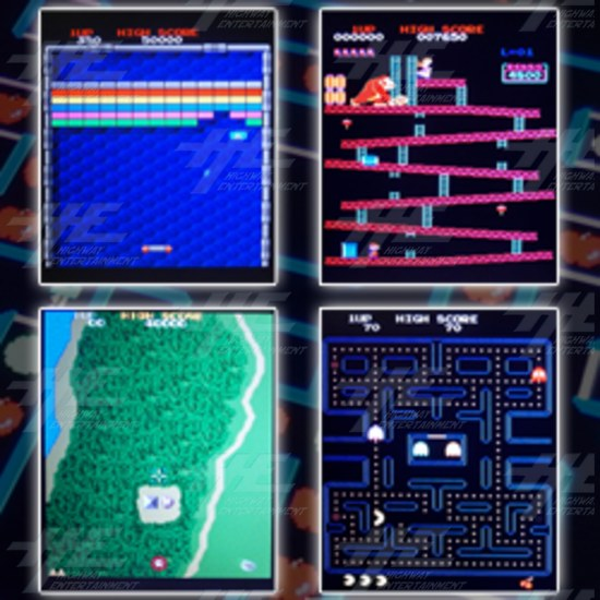 Blue Elf 412-in-1 Classic Arcade Game Board - Screenshots