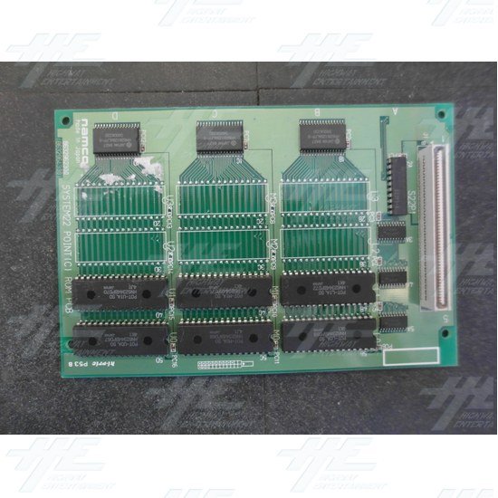 Namco System 22 Point C ROM PCB (Pack of 6) - Top View