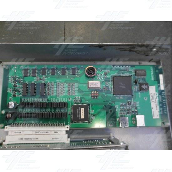 Namco ASCA-3A PCB and Namco ASCA-1B PCB - ASCA-3A PCB