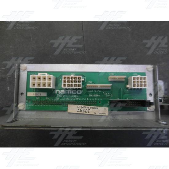 Namco ASCA-3A PCB and Namco ASCA-1B PCB - ASCA-1B PCB