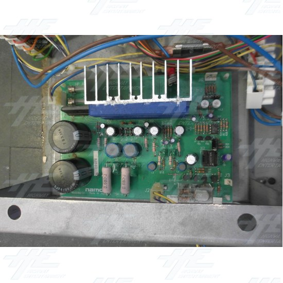Namco HP AMP PCB - Close Up
