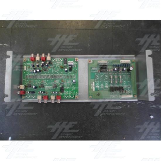 Konami GN845-PWB(C) PCB and Konami GX874-PWB(K)A PCB - Konami GN845-PWB(C) PCB and Konami GX874-PWB(K)A PCB