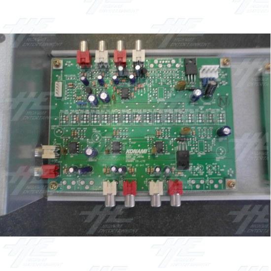 Konami GN845-PWB(C) PCB and Konami GX874-PWB(K)A PCB - Konami GN845-PWB(C) PCB