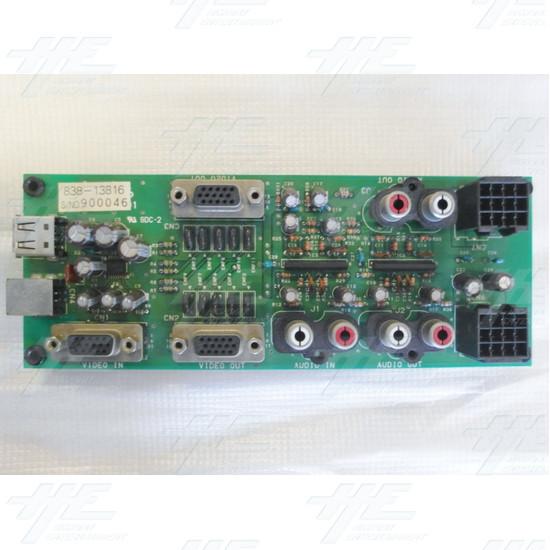 Namco 256 Taito Lindbergh Sega I / O Board D PCB - Screenshot 1