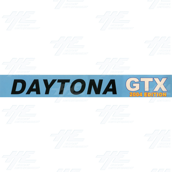 Daytona GTX 2004 Upgrade Kit for Daytona USA - Sticker 1