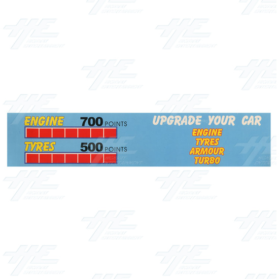 Daytona GTX 2004 Upgrade Kit for Daytona USA - Sticker 2