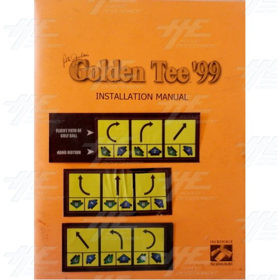 Golden Tee 99 Kit - Manual