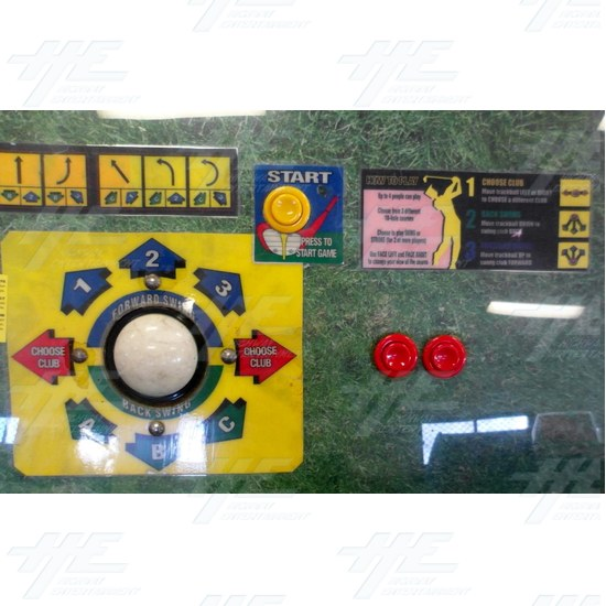 Golden Tee 99 Kit - Control Panel