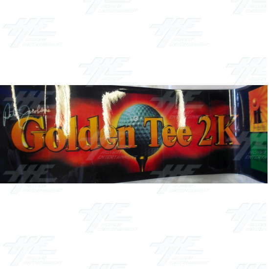Golden Tee 2K Cabinet Game Board And Parts - Header
