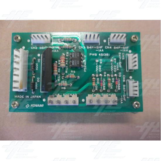 Konami PWB451381 PCB - Top View