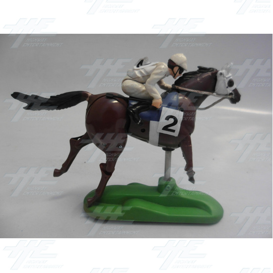 Sega Royal Ascot 2 DX Horse Only -Horse Number 2 - RA - Horse2 - Upright.JPG