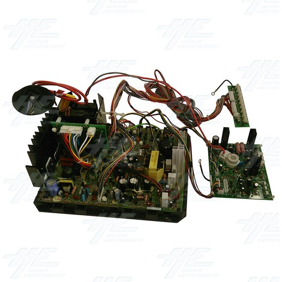 29 inch CRT Monitor Chassis Board (Model Number c3129ds) - Side View