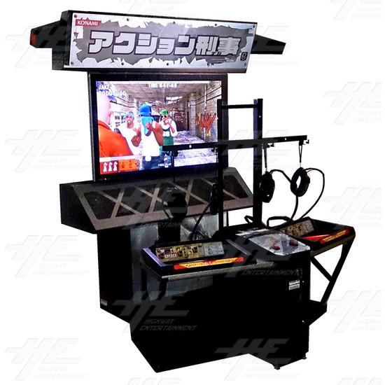Action Deka Arcade Machine - Full View