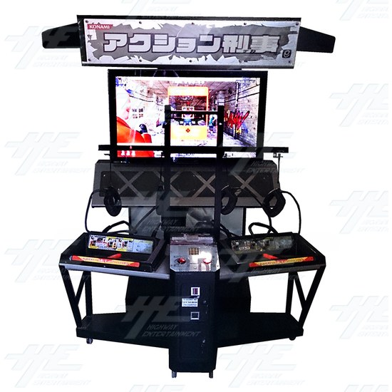 Action Deka Arcade Machine - Front View