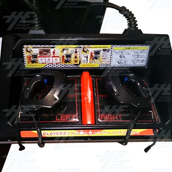 Action Deka Arcade Machine - Right Control Panel
