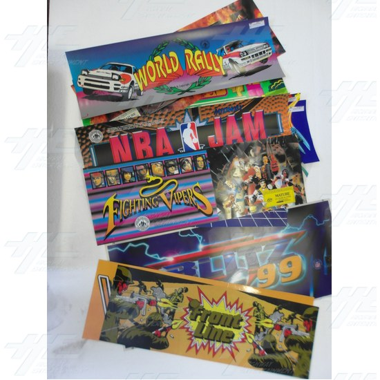 Assorted  Arcade Header Bulk Bundle (Pack of 13)  - Header Bundle