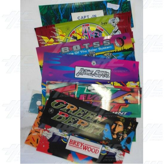 Assorted  Arcade Header Bulk Bundle (Pack of 15)  - Header Bundle