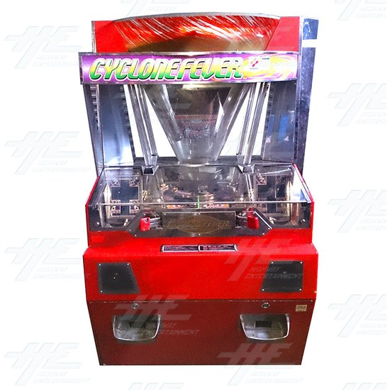 Cyclone Fever Medal Machine - Front View