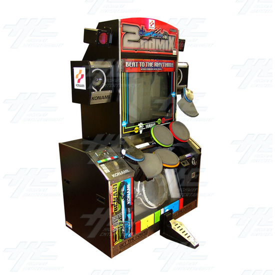 Drum Mania 2nd Mix Arcade Machine - Full View