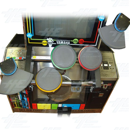 Drum Mania 2nd Mix Arcade Machine - Play Area