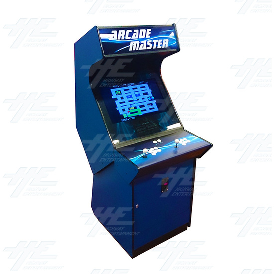Arcade Master 26 Inch Arcade Cabinet  (Showroom Model) - Angle View