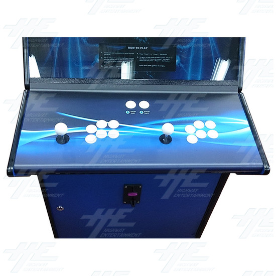 Arcade Master 26 Inch Arcade Cabinet  (Showroom Model) - Control Panel