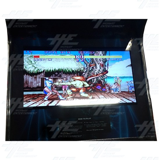 Arcade Master 26 Inch Arcade Cabinet  (Showroom Model) - Screen View