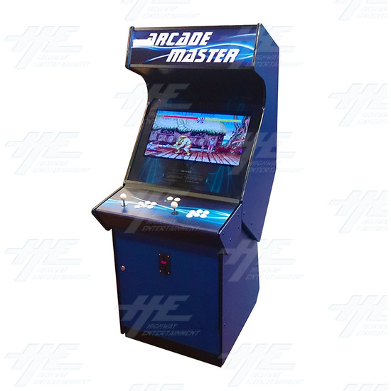 Arcade Master Upright Arcade Cabinet - Angle View
