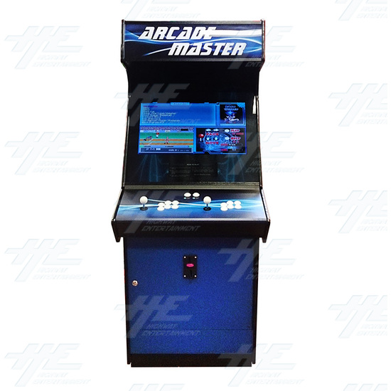 Arcade Master Upright Arcade Cabinet - Front View