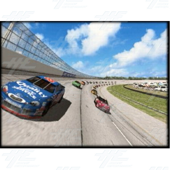 EA NASCAR 32inch Arcade Driving Machine  - Screenshot