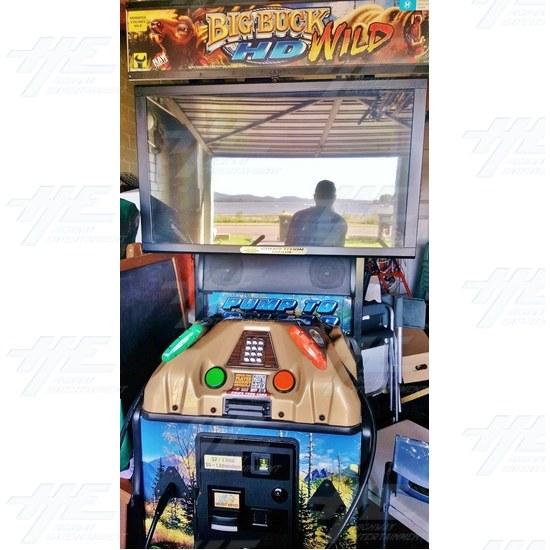 "Big Buck HD Wild 42"" Dedicated Mini Model Arcade Machine - Big Buck HD Wild 42"" Mini Model Arcade Machine"