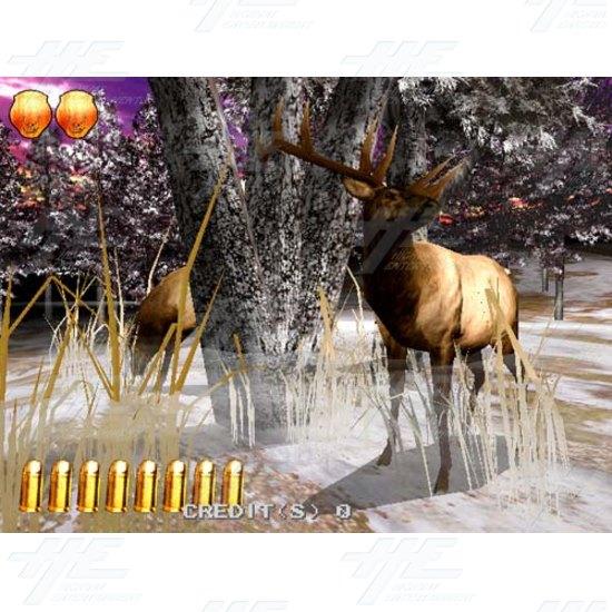 Extreme Hunting SD Arcade Machine - Screenshot
