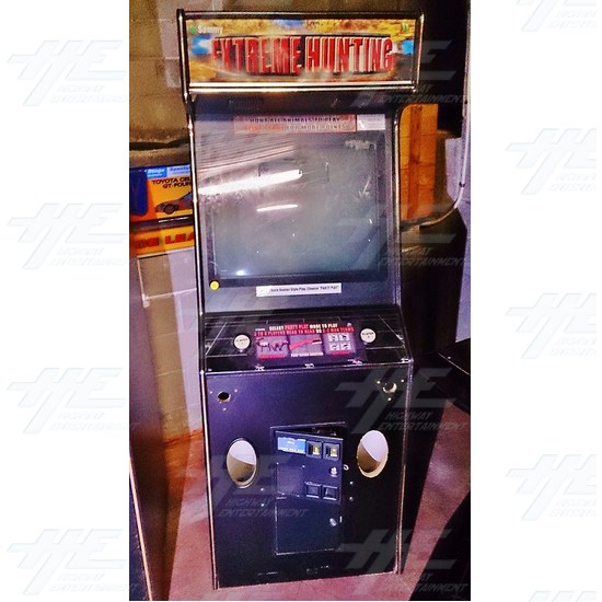 Extreme Hunting SD Arcade Machine (Cabinet only - Project Machine) - Extreme Hunting SD Arcade Machine