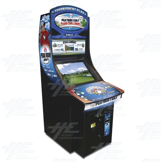 EA Sports PGA Tour Golf Challenge Arcade Machine - Cabinet