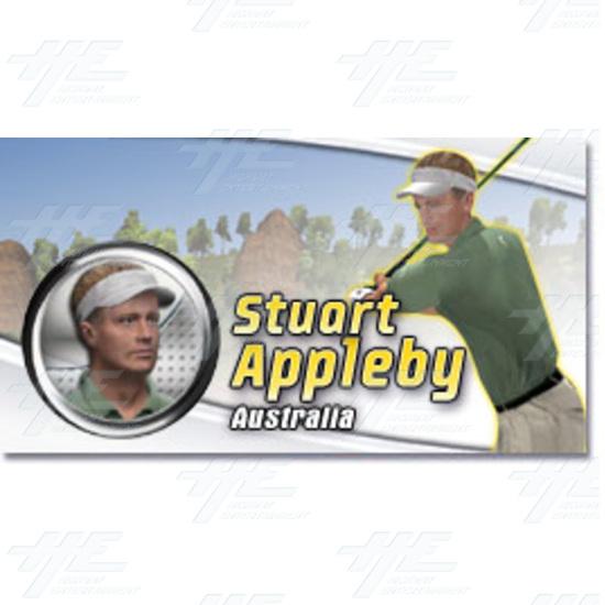 EA Sports PGA Tour Golf Challenge Arcade Machine - Stuart Appleby