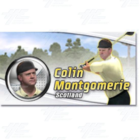 EA Sports PGA Tour Golf Challenge Arcade Machine - Colin Montgomerie