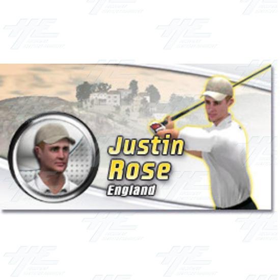 EA Sports PGA Tour Golf Challenge Arcade Machine - Justin Rose