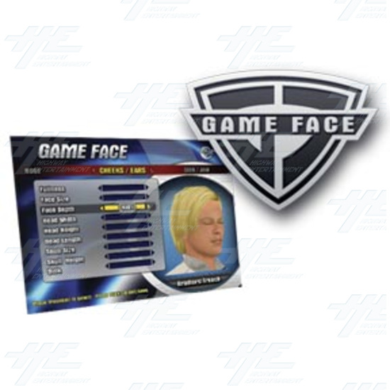 EA Sports PGA Tour Golf Challenge Arcade Machine - Game Face