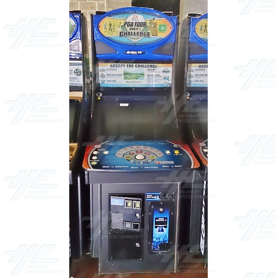EA Sports PGA Tour Golf Challenge Arcade Machine - EA Sports PGA Tour Golf Challenge Arcade Machine