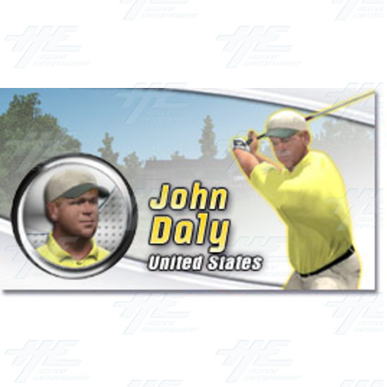 EA Sports PGA Tour Golf Challenge Arcade Machine - John Daly