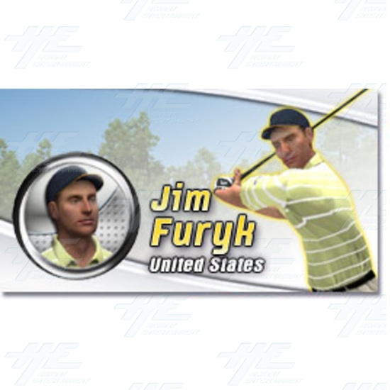 EA Sports PGA Tour Golf Challenge Arcade Machine - Jim Furyk