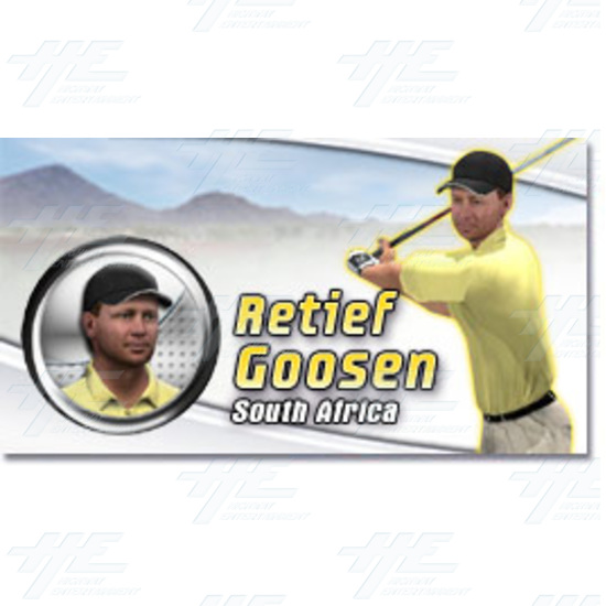 EA Sports PGA Tour Golf Challenge Arcade Machine - Retief Goosen