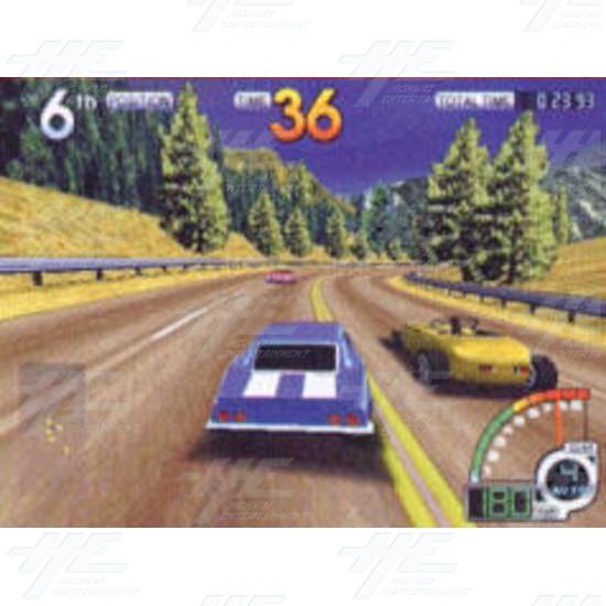 California Speed SD Arcade Machine - Screenshot
