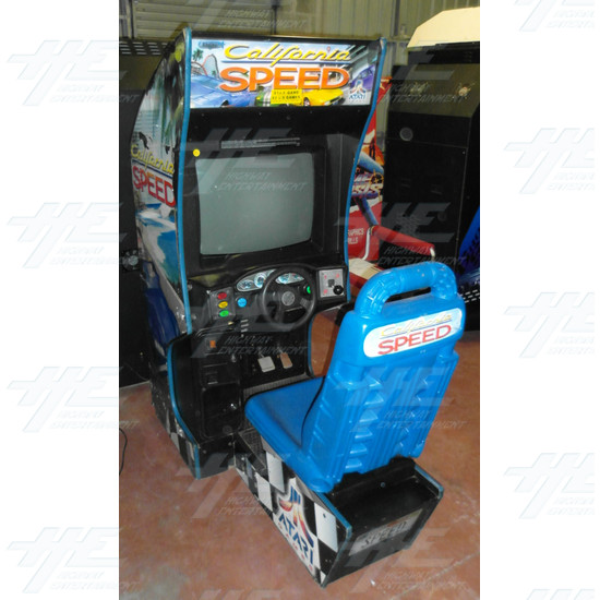 California Speed SD Arcade Machine - California Speed SD Arcade Machine