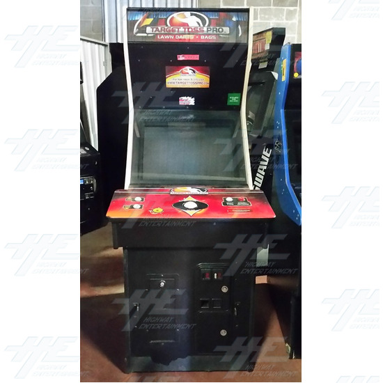 Target Toss Pro: Lawn Darts Arcade Machine - Target Toss Pro: Lawn Darts Arcade Machine