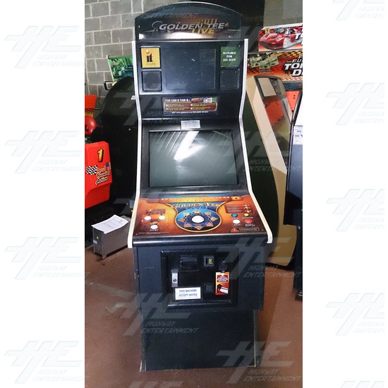 Golden Tee Golf Live 2011 Arcade Machine
